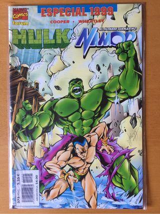 Cómic Hulk y Namor especial 1.999