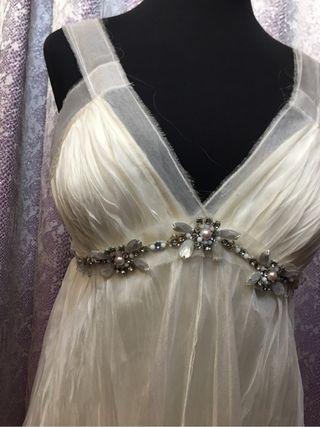 Vestido novia corto ALQUILER