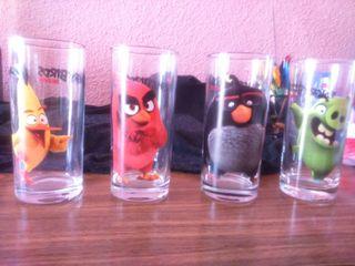vasos de angry birds