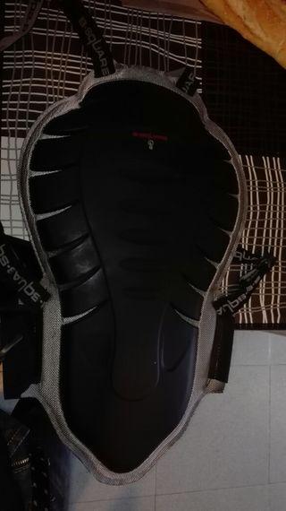 espaldera de moto