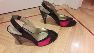 zapato de mujer. sandalia de mujer