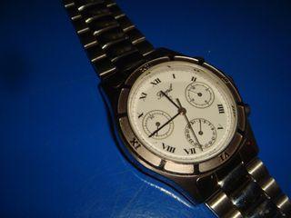 Reloj Ferpil caballero nuevo cromo acero