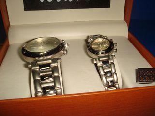 reloj pareja de relojes Bravo nuevo