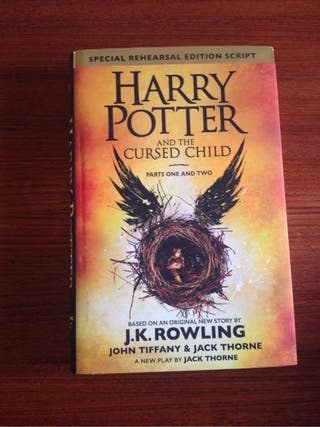 Libro Harry Potter and the cursed child