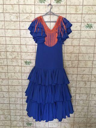 Vestido sevillana + complementos