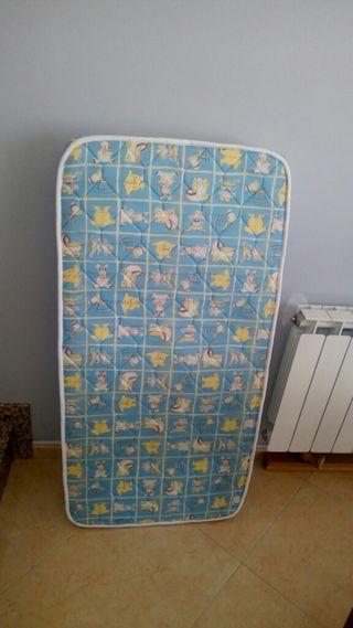 Colchón para cuna de bebe