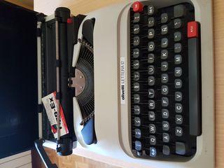 maquina de escribir olivetti letter 12