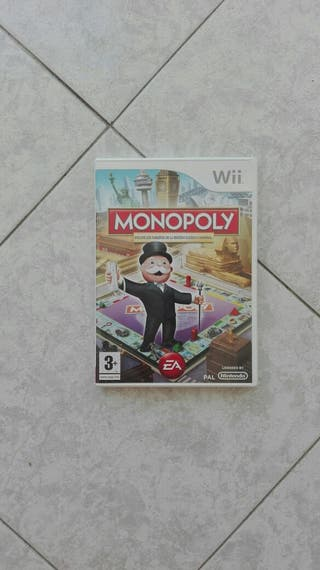 Juego Monopoly wii