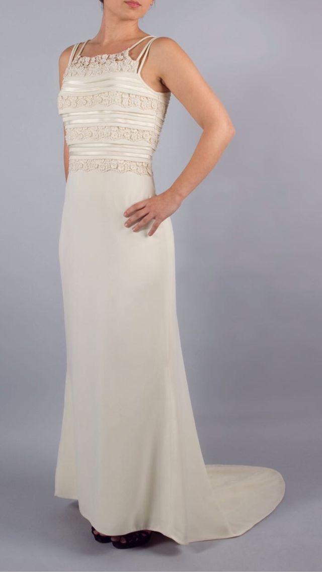 vestido novia alquiler de segunda mano por 125 € en barcelona en