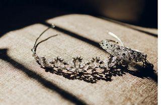 Diadema + brazalete novia