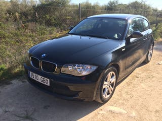 Bmw Serie 1 2007 118D, negro. Automático