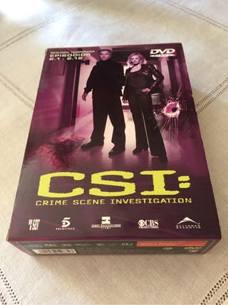 DVD CSI 2 temporada