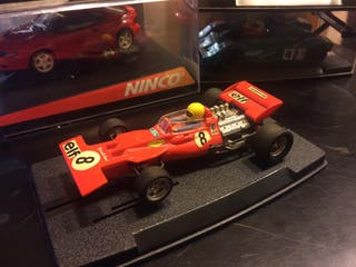 Tyrrel-Ford Scalextric Exin