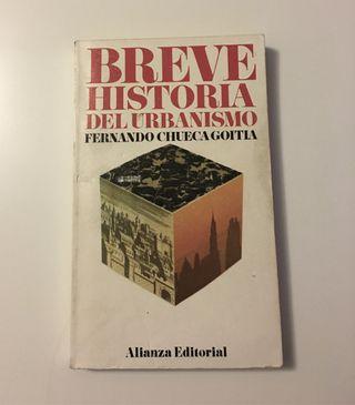 """Libro """"Breve historia del urbanismo"""""""