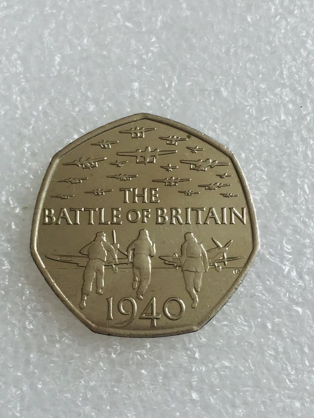 50p coin the battle of britain