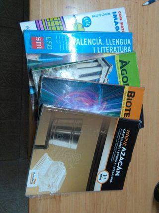 Libros PRIMER y SEGUNDO DE LA ESO