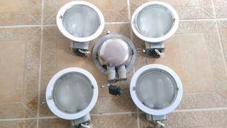 halógenos para baños cocinas