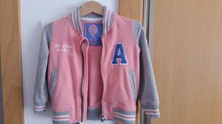 chaqueta deportiva niña