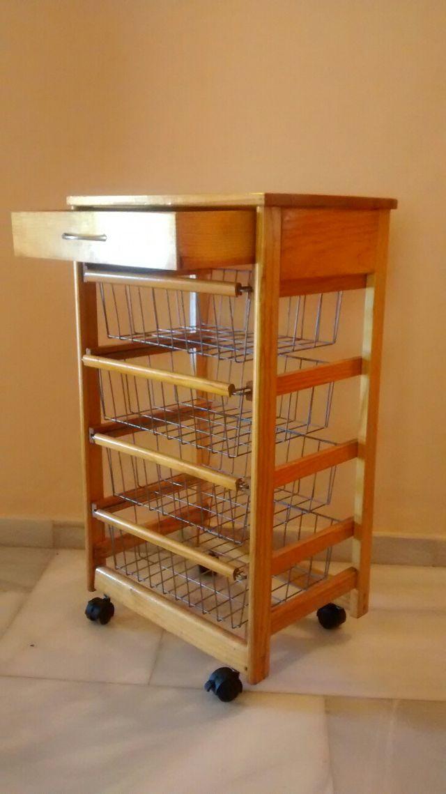 Mesa Verdulero de cocina con cajones de segunda mano por 35 € en ...