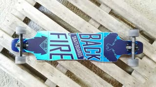 Longboards completo blue freeride