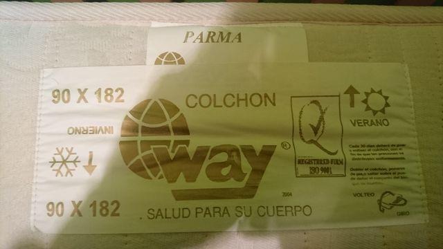 Colchon parma way de segunda mano por 100 € en Burgos en WALLAPOP