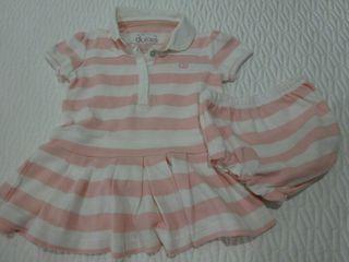 """vestido """"DULCES"""" 6-12 meses baby niña"""