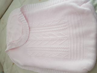 saco bebe lana