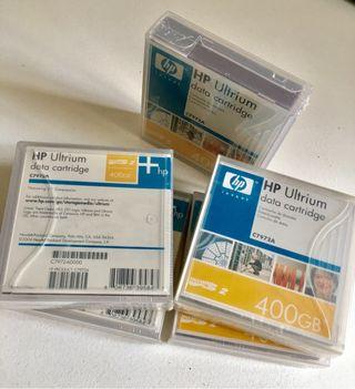HP Ultrium. Cartucho de datos