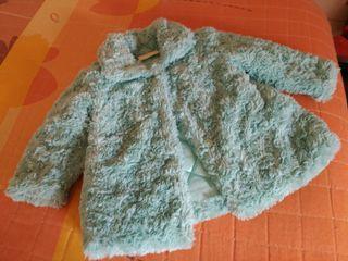 precioso abrigo marca bimbalina talla 12 meses