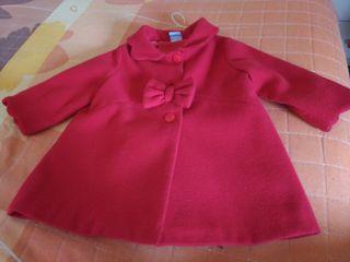 abrigo marca sardon talla 12 meses