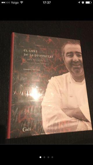 Libro cocina santi santamaria En Castellano!!!