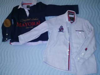 Polo y camisa niño MAYORAL