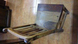 Silla rustica madera