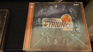 2 cd OT1 Operación Triunfo
