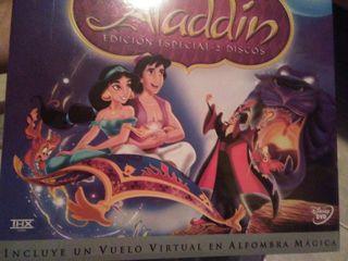 Aladdin dvd 2 discos