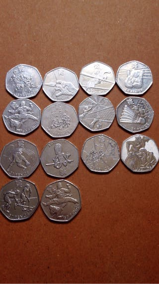 50p coins olympci games london