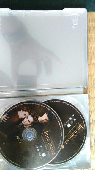 Blu-ray Luna nueva (Saga crepúsculo)