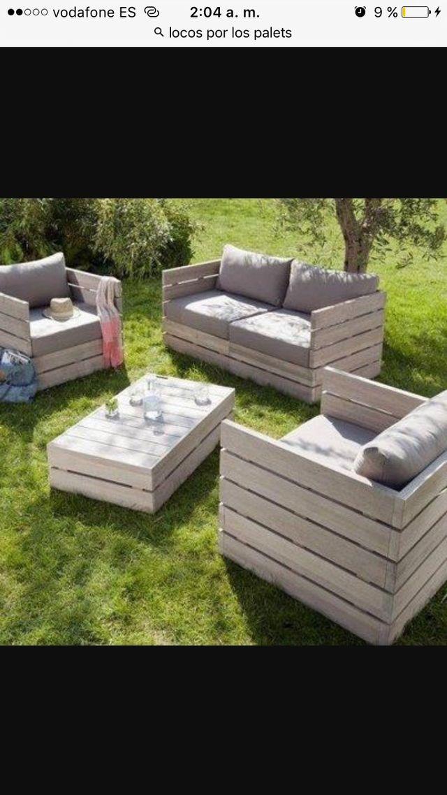 Muebles palets de segunda mano por 1 en pamplona en wallapop - Muebles de segunda mano en pamplona ...