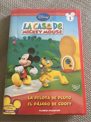 Dvd La Casa Mickey Mouse Nr 1