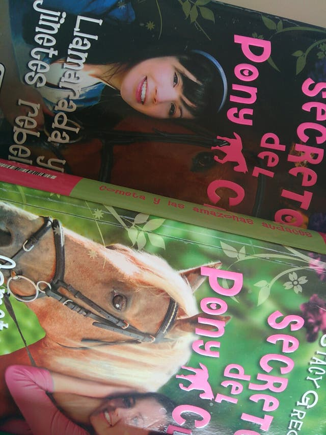 """Coleccion """"Secretos del Pony Club"""""""