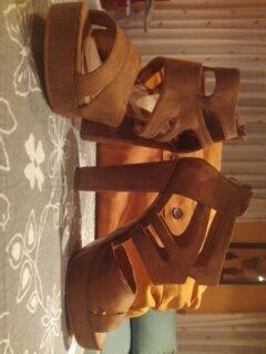 sandalias nuevas sin estrenar