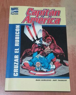 """Capitán América """"Cruzar el Rubicón"""""""