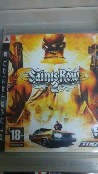 juego ps3 saints row