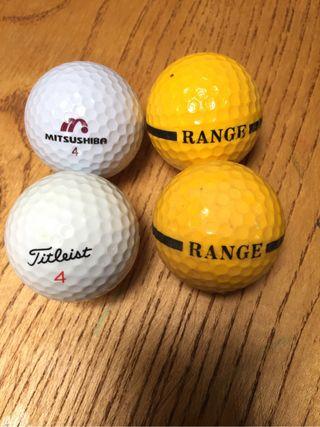 Pelotas de golf(unidad)