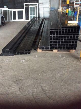 Barras tubos de hierro