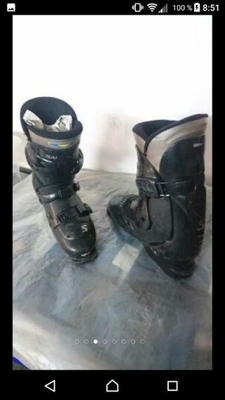botas de sky salomon talla 43