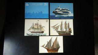 postales barcos