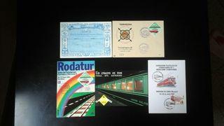 postales tren / ferrocarril