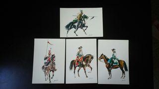 postales ejercito español