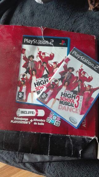 High School Musical 3 Fin De Curso Dance+Alfombra Ps2